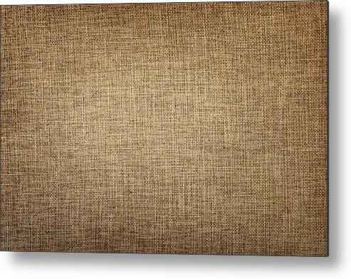 Material Metal Print featuring the photograph Old Canvas Fabric by Ithinksky