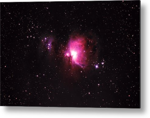 Natural Gas Metal Print featuring the photograph Orion Nebula by Plefevre