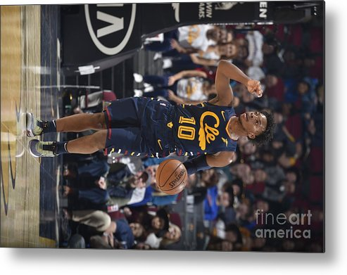Nba Pro Basketball Metal Print featuring the photograph Orlando Magic V Cleveland Cavaliers by David Liam Kyle
