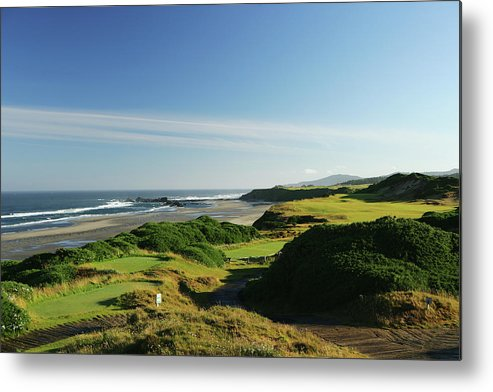 Viewpoint Metal Print featuring the photograph Pacific Dunes 13th by David Cannon