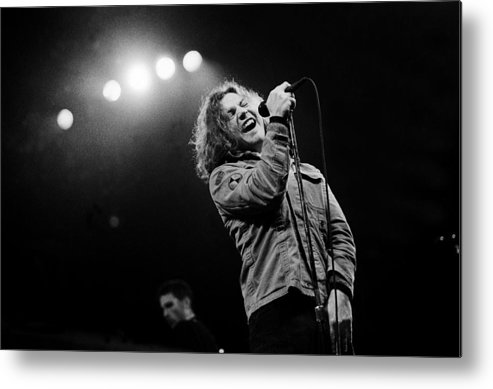 Singer Metal Print featuring the photograph Paul Natkin Archive by Paul Natkin