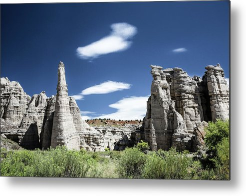 Plaza Blanca Metal Print featuring the photograph Plaza Blanca by Candy Brenton