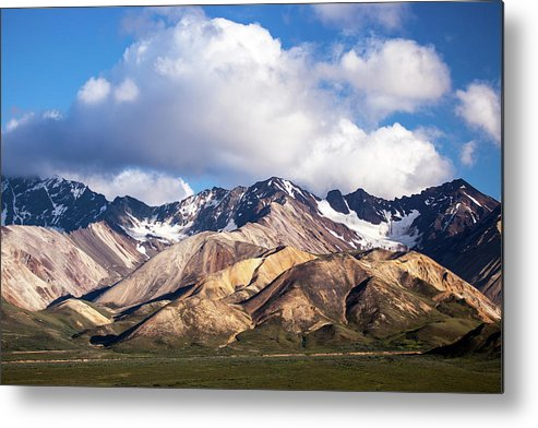 Tranquility Metal Print featuring the photograph Polychrome Overlook View by Daniel A. Leifheit