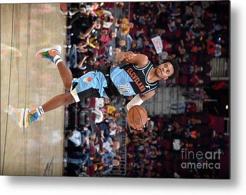 Nba Pro Basketball Metal Print featuring the photograph Portland Trailblazers V Cleveland by David Liam Kyle