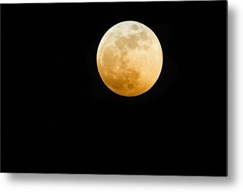 Shadow Metal Print featuring the photograph Red Moon by Stevedangers