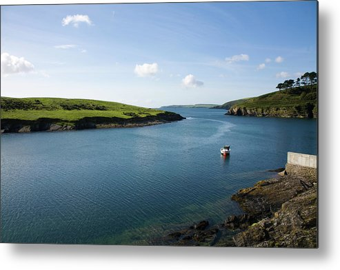 Scenics Metal Print featuring the photograph Republic Of Ireland, County Cork, Inlet by David Epperson