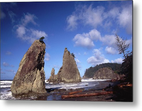 Toughness Metal Print featuring the photograph Rialto Beach by Mark Newman