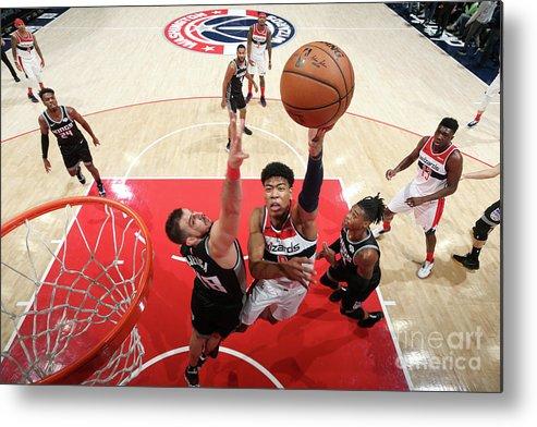 Nba Pro Basketball Metal Print featuring the photograph Sacramento Kings V Washington Wizards by Stephen Gosling