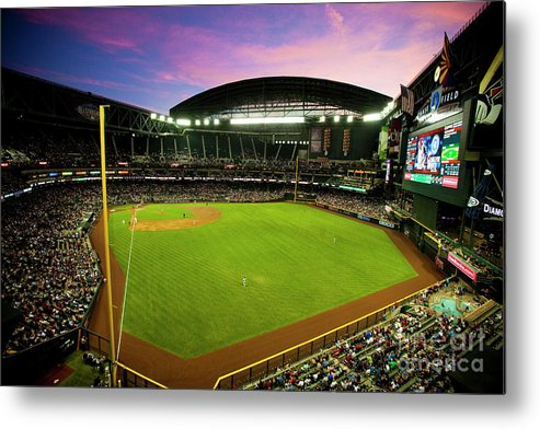 Arizona Metal Print featuring the photograph San Francisco Giants V Arizona by Jon Willey
