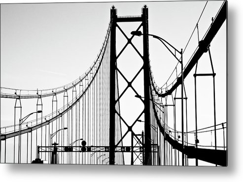 Pole Metal Print featuring the photograph San Francisco by Znz
