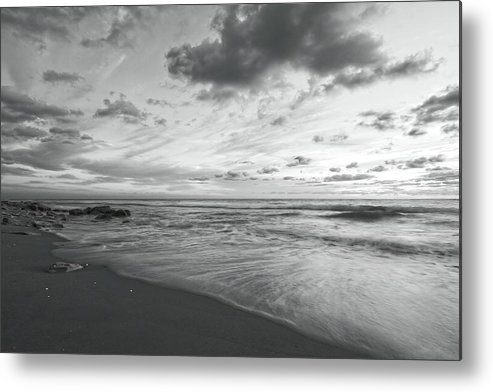 Florida Metal Print featuring the photograph Serene Seascape by Steve DaPonte
