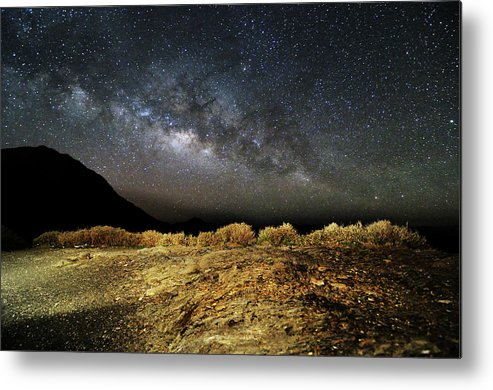 Scenics Metal Print featuring the photograph Space by Copyright Of Eason Lin Ladaga