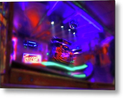 Waltzer Metal Print featuring the painting Speed Thrills by Charles Stuart