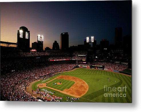 American League Baseball Metal Print featuring the photograph State Farm Home Run Derby by Dilip Vishwanat
