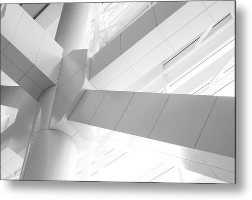 Toughness Metal Print featuring the photograph Structural Connection by Blackred