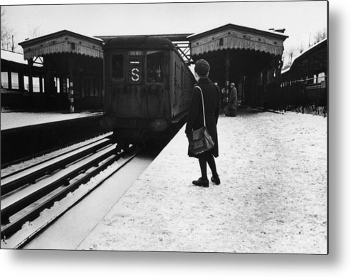 Child Metal Print featuring the photograph Suburban Train by Bert Hardy