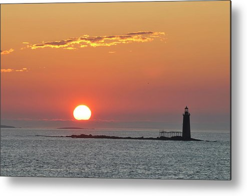 Scenics Metal Print featuring the photograph Sunrise by Aimintang