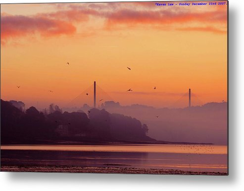 Scenics Metal Print featuring the photograph Sunrise by All Images Taken By Keven Law Of London, England.