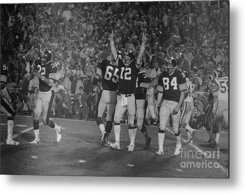 1980-1989 Metal Print featuring the photograph Super Bowl Xiv by Bettmann