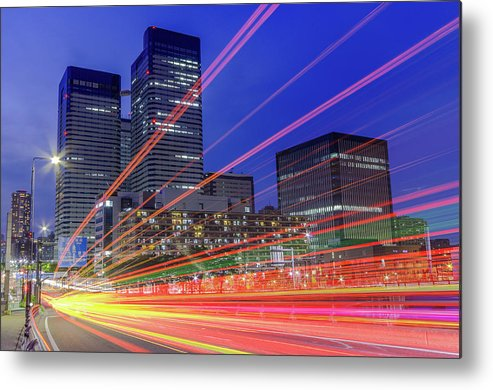Outdoors Metal Print featuring the photograph Tails Of Daytime by Shingo Tamura