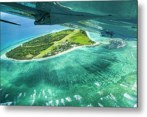 Grass Metal Print featuring the photograph Taking Off From Great Barrier Reef by Nick