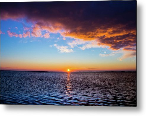 Sunrise Metal Print featuring the photograph The Calm Before by Jason Ingui