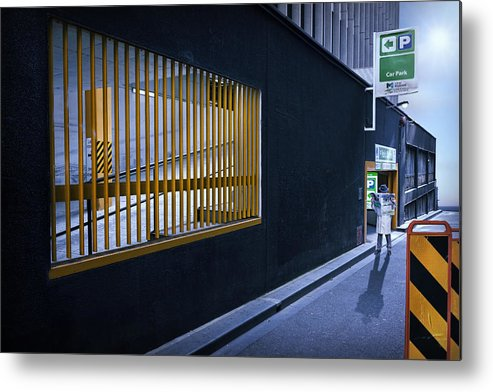 Melbourne Metal Print featuring the photograph The Car Park by Adrian Donoghue