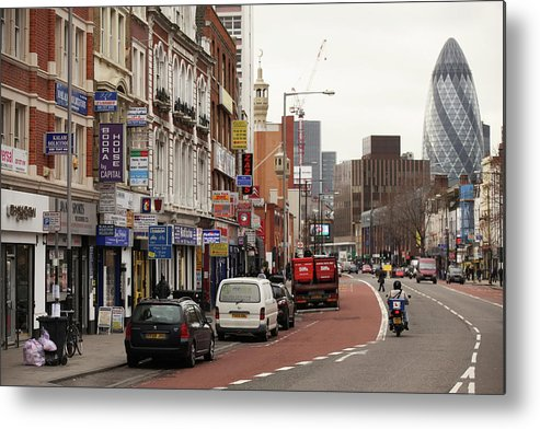 East Metal Print featuring the photograph The Original London 2012 Marathon Route by Oli Scarff