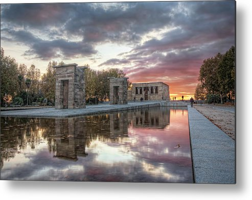 Arch Metal Print featuring the photograph The Twilight Of The Gods by Servalpe