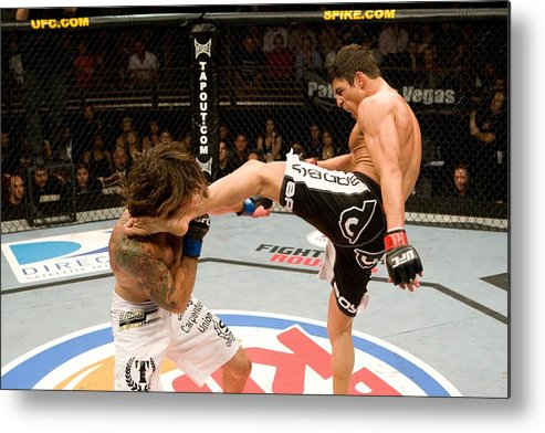 Sport Metal Print featuring the photograph The Ultimate Fighter 9 Finale by Josh Hedges/zuffa Llc