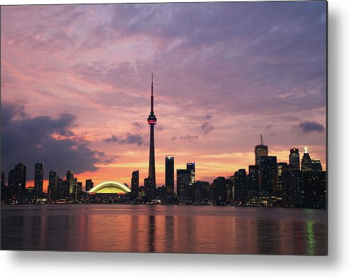 Lake Ontario Metal Print featuring the photograph Toronto by Js`s Favorite Things
