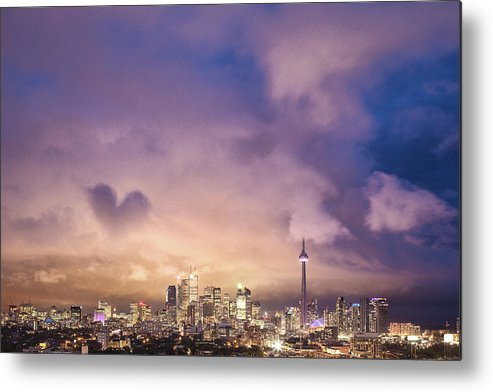 Toronto Metal Print featuring the photograph Toronto Love by Richard Gottardo - Info@richardgottardo.com