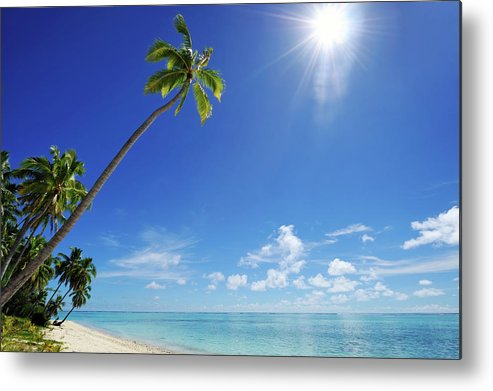 Scenics Metal Print featuring the photograph Tropical Dream Beach by Freder
