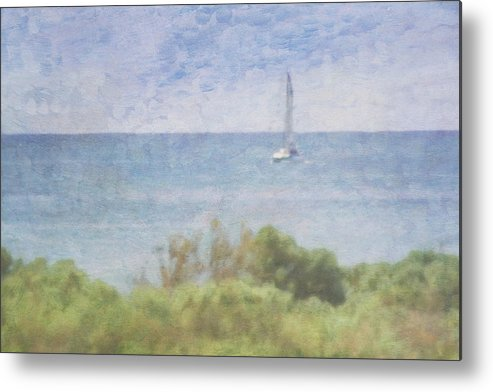 Tranquility Metal Print featuring the photograph When Your Boat Comes In by Craig Hewson