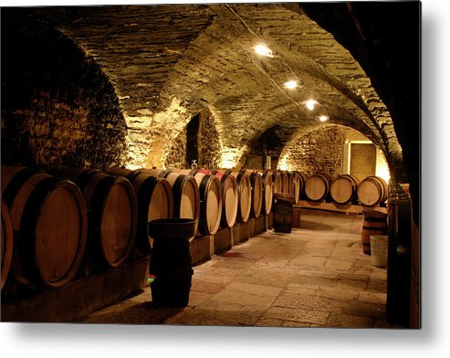 Arch Metal Print featuring the photograph Wine Cellar by Brasil2