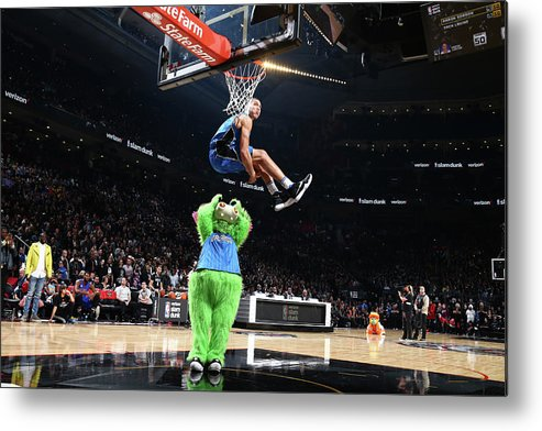 Event Metal Print featuring the photograph Aaron Gordon by Nathaniel S. Butler