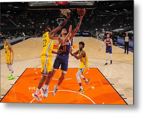 Nba Pro Basketball Metal Print featuring the photograph Abdel Nader by Barry Gossage