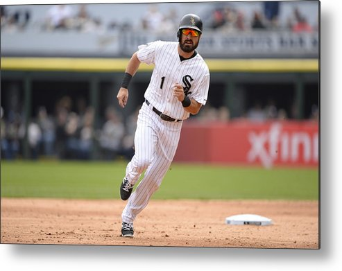 People Metal Print featuring the photograph Adam Eaton by Ron Vesely