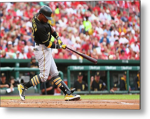 St. Louis Cardinals Metal Print featuring the photograph Andrew Mccutchen by Dilip Vishwanat