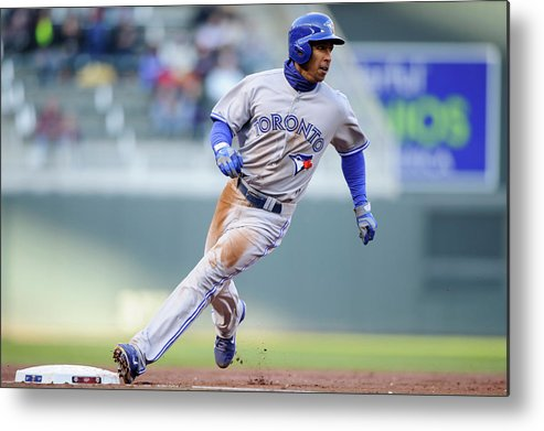Game Two Metal Print featuring the photograph Anthony Gose by Hannah Foslien
