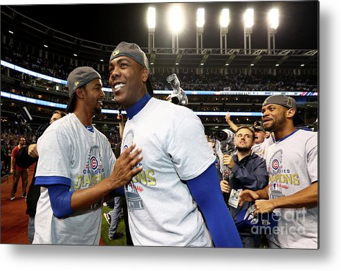 People Metal Print featuring the photograph Aroldis Chapman by Elsa