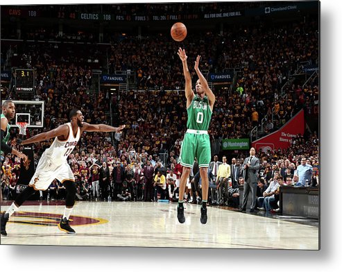 Playoffs Metal Print featuring the photograph Avery Bradley by Nathaniel S. Butler