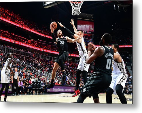 Atlanta Metal Print featuring the photograph Blake Griffin by Scott Cunningham
