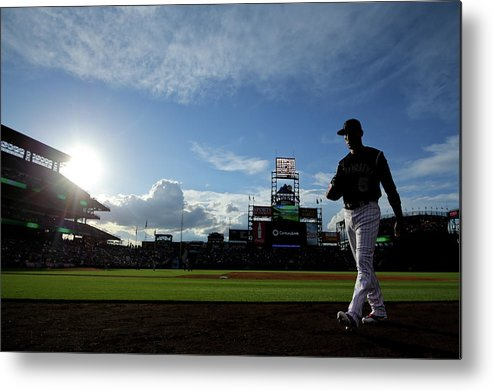 People Metal Print featuring the photograph Carlos Gonzalez by Justin Edmonds