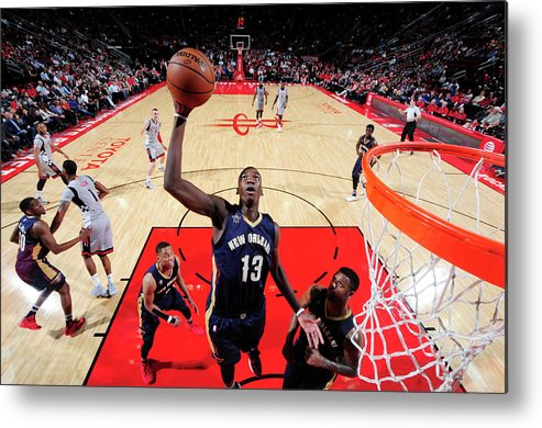Nba Pro Basketball Metal Print featuring the photograph Cheick Diallo by Bill Baptist
