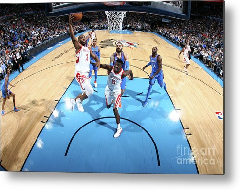 Nba Pro Basketball Metal Print featuring the photograph Chris Paul by Layne Murdoch
