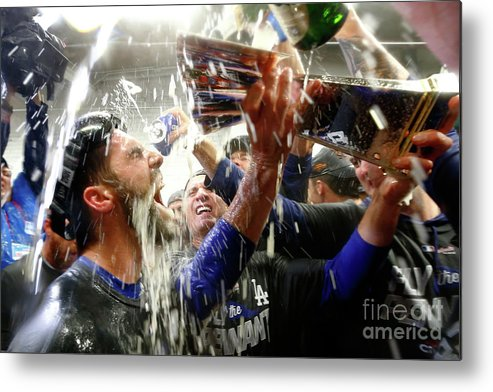 Championship Metal Print featuring the photograph Chris Taylor by Jamie Squire