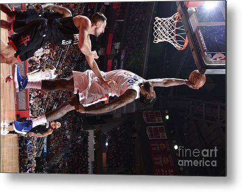 Nba Pro Basketball Metal Print featuring the photograph Deandre Jordan by Bill Baptist