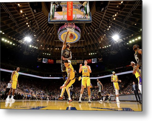 Nba Pro Basketball Metal Print featuring the photograph Demarcus Cousins by Noah Graham