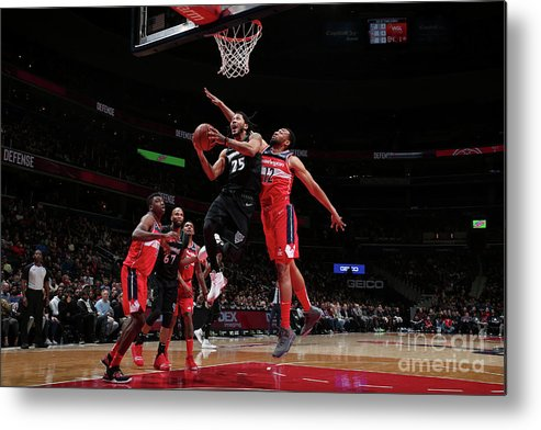 Nba Pro Basketball Metal Print featuring the photograph Derrick Rose by Ned Dishman